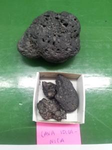 Lava volcánica